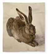 Hare Fleece Blanket