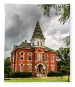 Hargis Hall - Auburn University Fleece Blanket