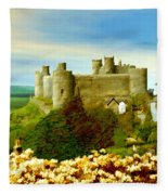 Harlech Castle Fleece Blanket