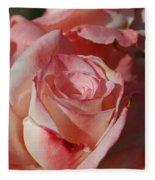 Harlekin Rose Fleece Blanket