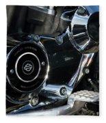 Harley Davidson 17 Fleece Blanket