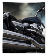 Harley Davidson 8 Fleece Blanket
