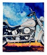Harley Hog II Fleece Blanket