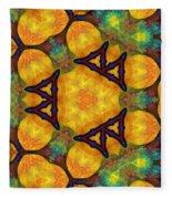 Harmony And Abundance Fleece Blanket