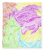 Harmony Magnified Fleece Blanket