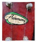 Harmony Uke Fleece Blanket