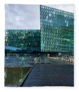 Harpa Concert Hall - Iceland Fleece Blanket