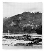 Harper's Ferry From Across The Potomac Fleece Blanket
