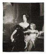Harriet, Duchess Of Fleece Blanket