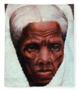 Harriet Tubman, African-american Fleece Blanket