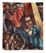 Harriet Tubman, Booker Washington Fleece Blanket