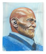 Harry Belafonte Fleece Blanket