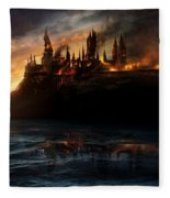 Harry Potter And The Deathly Hallows Part I 2010  Fleece Blanket