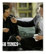 Harsh Times, Starring Christian Bale, Freddy Rodriguez And Eva Longoria Fleece Blanket