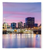 Hartford Purple Twilight Fleece Blanket