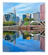 Hartford Reflects Fleece Blanket