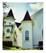 Hartsburg Baptist Church Fleece Blanket