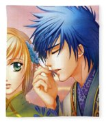 Harukanaru Toki No Naka De Fleece Blanket