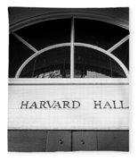 Harvard Hall Fleece Blanket