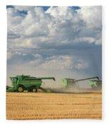 Harvest Clouds Fleece Blanket