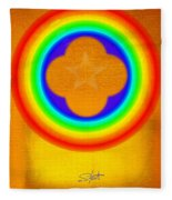 Harvest Gold Fleece Blanket
