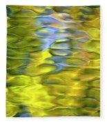 Harvest Gold Mosaic Fleece Blanket