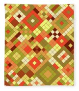 Harvest Gold Fleece Blanket