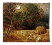 Harvest Moon Fleece Blanket