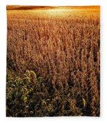 Harvest Twilight Fleece Blanket