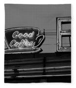 Hasbrouck Heights, Nj - Bendix Diner Fleece Blanket