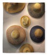 Hats Fleece Blanket