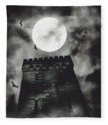 Haunted Dark Castle Fleece Blanket