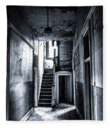Haunted Hallway Fleece Blanket