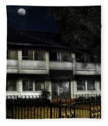 Haunted Hotel Fleece Blanket