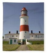 Haunted Lighthouse. Fleece Blanket