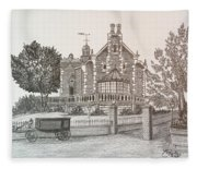 Haunted Mansion  Fleece Blanket
