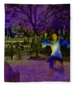 Haunted Night Fleece Blanket