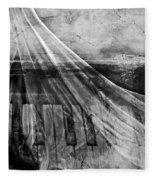 Haunted Piano Fleece Blanket