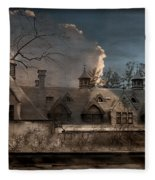 Haunted Stable Fleece Blanket