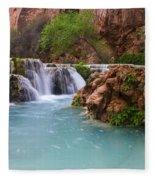Havasu Creek Grand Canyon 15 Fleece Blanket