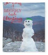 Have A Very Merry Christmas Fleece Blanket