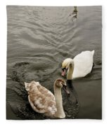 Have To Behave Yourself. Fleece Blanket