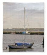 Haven. Smooth Water. Fleece Blanket