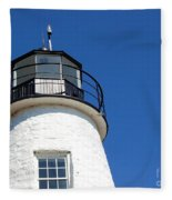 Havre De Grace Lighthouse 2 Fleece Blanket