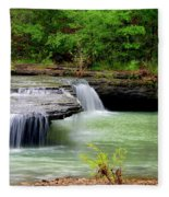 Haw Creek Falls Fleece Blanket