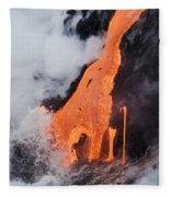 Hawaii Lava Fleece Blanket