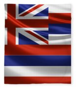 Hawaii State Flag Fleece Blanket
