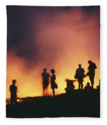 Hawaii Volcanoes National Park Fleece Blanket
