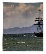 Hawaiian Chieftain-1 Fleece Blanket