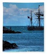 Hawaiian Chieftain-2 Fleece Blanket